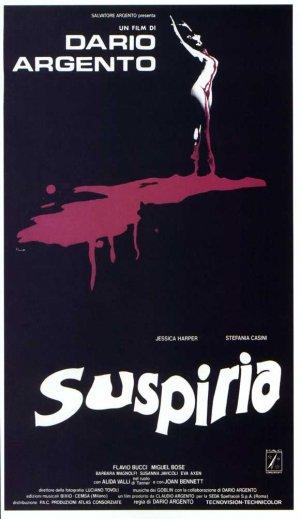 Suspiria Poster Italiano