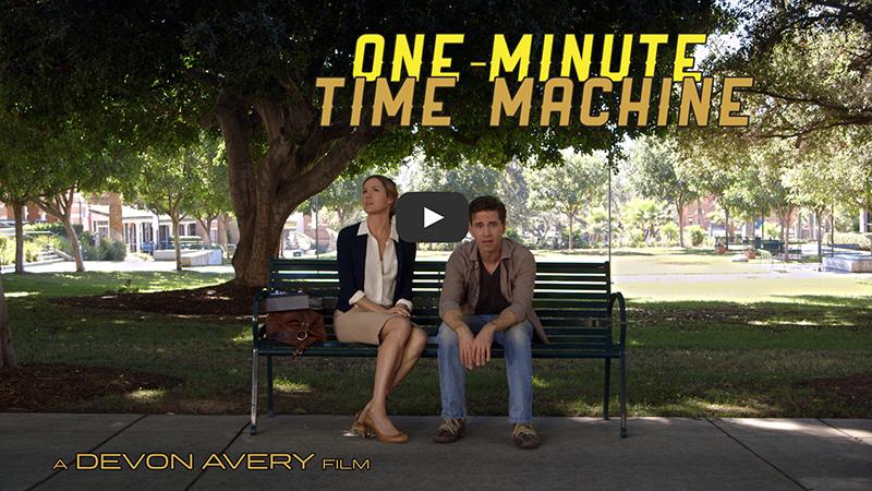 One-Minute Time Machine, amor y viaje en el tiempo