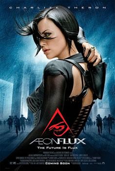 Film Poster de Aeon Flux