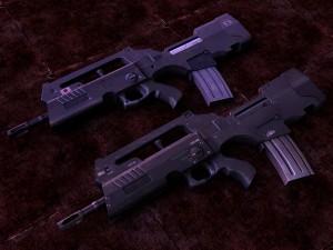 FAMAS rifle